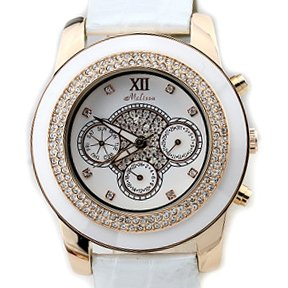 Ceramic style Women fashion watch