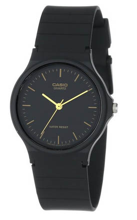 casio balck watch