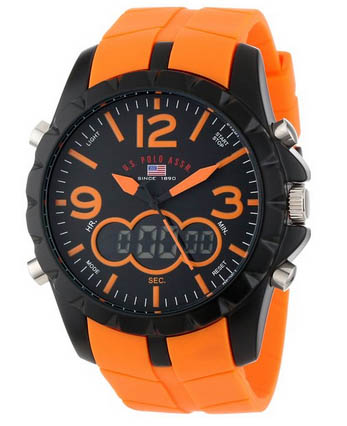 polo watch orange