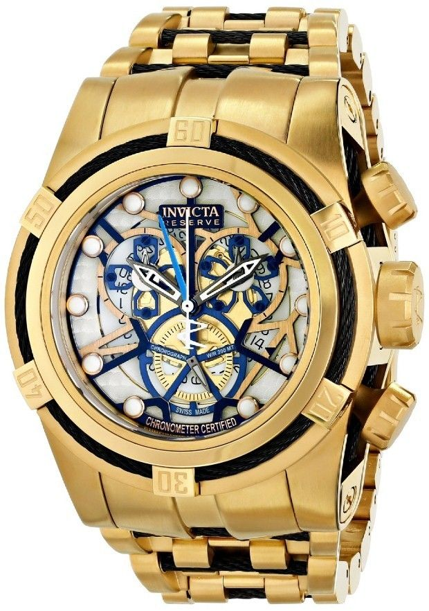Gold watches for men Invicta Invicta Men's 13759 Subaqua Analog Display Swiss Quartz