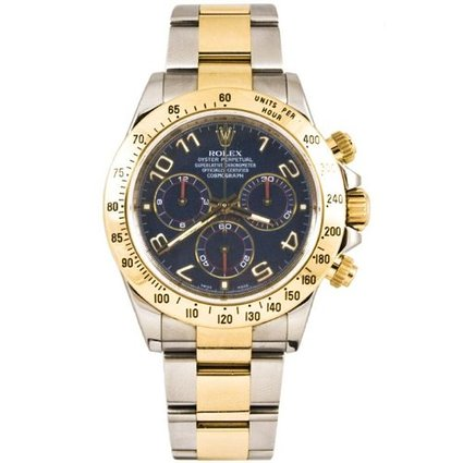Rolex 40mm Stainless Steel & 18K Gold Daytona Model