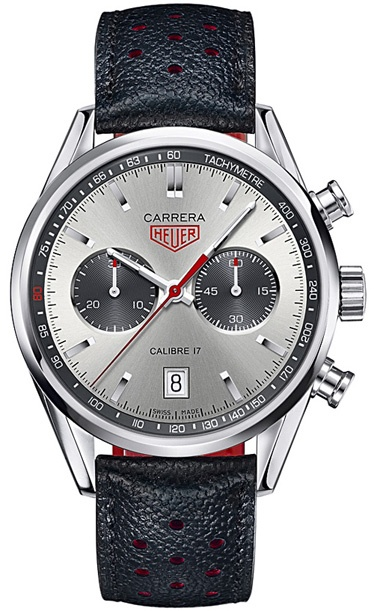 Steel limited edition Jack Heuer 80th Birthday Carrera Chronograph by TAG Heuer