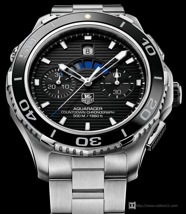 TAG Heuer Aquaracer 500m Calibre 72 Countdown