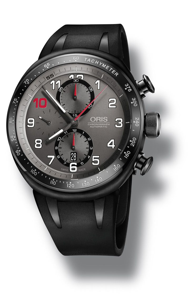black oris watch