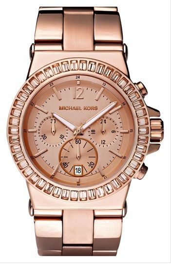 rose gold watches for women