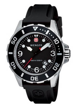 wenger mens watch